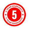 5-Year-Warranty icon